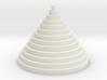 The Circle Pyramid 3d printed