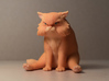 Garfi - The angry cat 3d printed