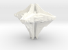 Alien mothership concept 3d printed