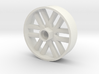 BP8 front wheel for foam tires 56mm 3d printed