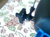 Gopro Mount To Fpv Camera for 3DR Iris+ and more. 3d printed Used to mount camera to my Iris+