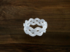 Turk's Head Knot Ring 3 Part X 9 Bight - Size 7 3d printed