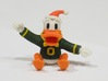 Oregon Duck Santa Ornament 3d printed This is how awesome it really looks