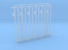 12 Electric Poles N SCALE 1:160 3d printed