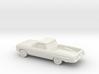 1/87 1961 Chevrolet El Camino 3d printed