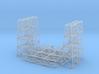 Steel Bridge Trusses Z Scale 3d printed Steel bridge Z scale