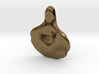 Tear Drop Oyster Mushroom Pendant 3d printed