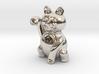 Manekineko luck with money pendant 3d printed