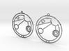 Allison - Earrings - Series 1 3d printed