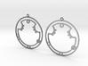 Aurora - Earrings - Series 1 3d printed