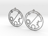 Brielle - Earrings - Series 1 3d printed