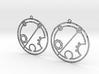 Brielle - Earrings - Series 1 3d printed