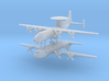 1/600 AN-12BK-PPS & Shaanxi Y-8 Aircraft (x2) 3d printed