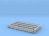 Twelve Bay Rapid Discharge Hopper - Set of 4 - Zsc 3d printed