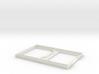 """3.2"""" TFT Sainsmart Displayhousing bottom 3d printed"""