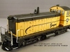 HO-Scale Simpson Lumber SW Dynamic Brake 3d printed Model, Paint Work & Photo by Jeff Davis.