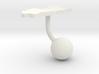 Palau Terrain Cufflink - Ball 3d printed