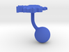 Serbia Terrain Cufflink - Ball 3d printed