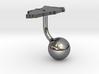 Bahrain Terrain Cufflink - Ball 3d printed