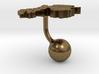 Gabon Terrain Cufflink - Ball 3d printed