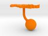Kazakhstan Terrain Cufflink - Ball 3d printed