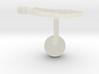 Austria Terrain Cufflink - Ball 3d printed