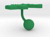 Jordan Terrain Cufflink - Ball 3d printed