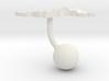 Malaysia Terrain Cufflink - Ball 3d printed