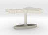 Mali Terrain Cufflink - Flat 3d printed
