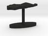 Palau Terrain Cufflink - Flat 3d printed