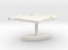 Uganda Terrain Cufflink - Flat 3d printed