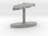 Bahrain Terrain Cufflink - Flat 3d printed