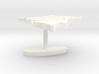 Democratic Republic of the Congo Terrain Cufflink  3d printed