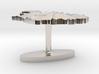 Iceland Terrain Cufflink - Flat 3d printed