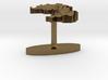 Laos Terrain Cufflink - Flat 3d printed