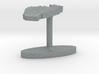 Togo Terrain Cufflink - Flat 3d printed