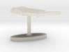United States Terrain Cufflink - Flat 3d printed