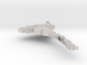 Eritrea Terrain Silver Pendant 3d printed