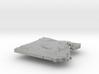 Egypt Terrain Silver Pendant 3d printed