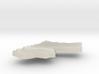 Jordan Terrain Silver Pendant 3d printed