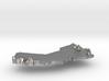 Oman Terrain Silver Pendant 3d printed