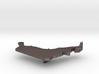 United Arab Emirates Terrain Silver Pendant 3d printed