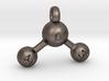 Water Molecule Keychain 3d printed