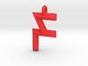 Crossfit Felix Logo with Loop 3d printed
