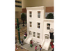 HO SCALE ROW HOME FRONT 3S  3d printed
