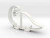 Brontosaurus Cookie Cutter 3d printed