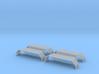 Kotflügel mit Riffelblech für Herpa Zetros  2Stück 3d printed
