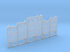 Background Buildings Z Scale 3d printed Back ground buildings Z scale