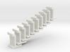 H0 platform wall / perronwand 1:87 10pc 3d printed