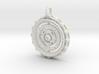 Gyroscope Mandala 3d printed